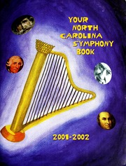 Vol 2001-2002: Your North Carolina Symphony Book