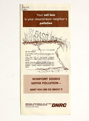 Vol 1979: Your soil loss is your downstream neighbors pollution : nonpoint source water pollution- what you can do about it
