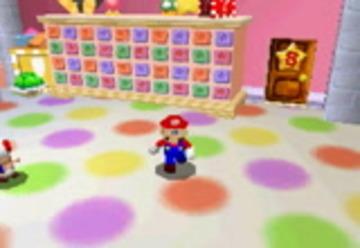 N64 Mario in Super Mario 64 DS Hack