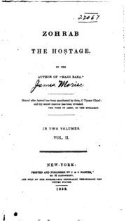 Vol 2: Zohrab, the Hostage