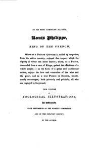 Vol 2: Zoological Illustrations ...: Arranged According to Their Apparent Affinities