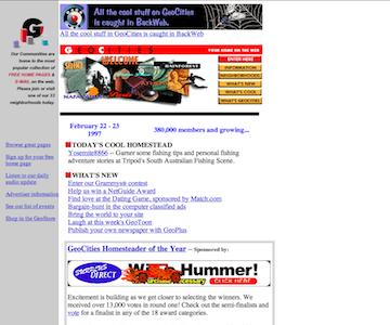 archive web